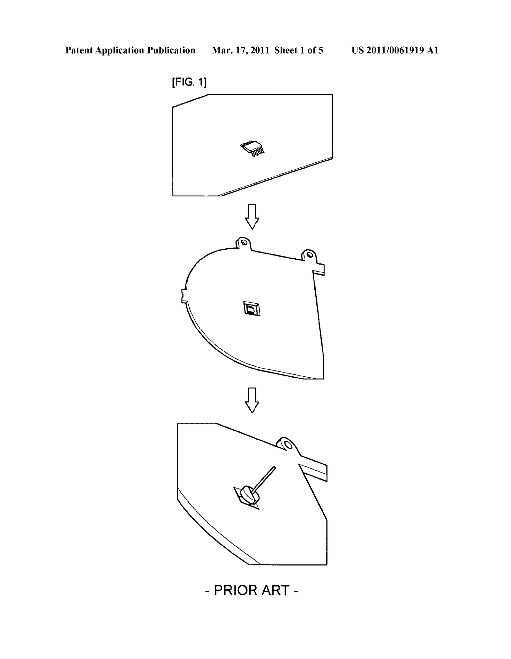 Low temperature co-fired ceramics assembling system and method thereof - diagram, schematic, and image 02