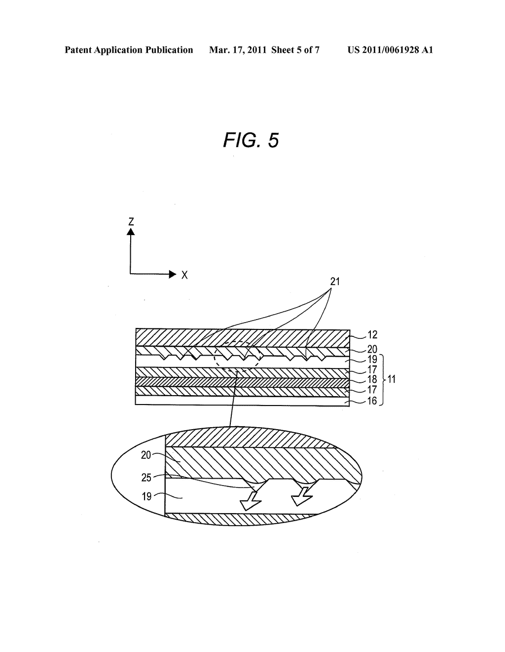FLEXIBLE PRINTED WIRING BOARD AND ELECTRONIC APPARATUS HAVING FLEXIBLE PRINTED WIRING BOARD - diagram, schematic, and image 06