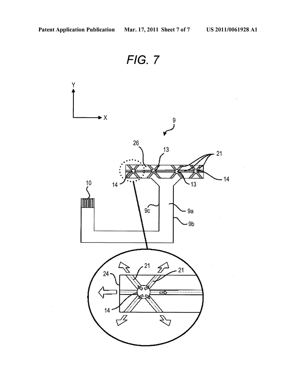 FLEXIBLE PRINTED WIRING BOARD AND ELECTRONIC APPARATUS HAVING FLEXIBLE PRINTED WIRING BOARD - diagram, schematic, and image 08