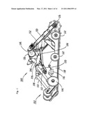 SNOWMOBILE SUSPENSION AND DRIVE TRAIN diagram and image