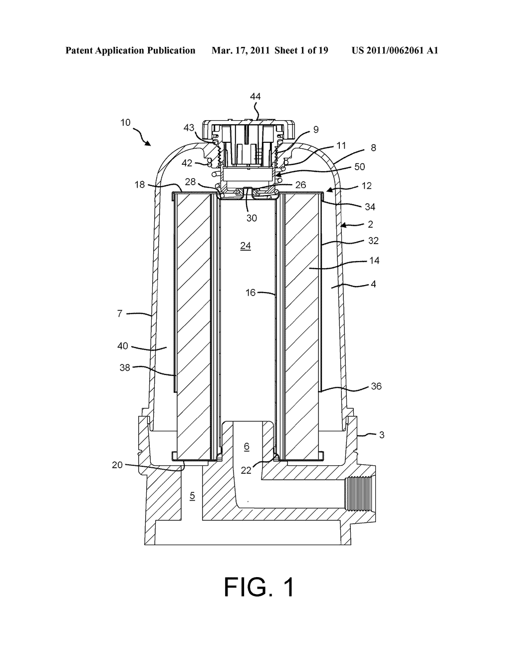 Filter Assembly with Modular Relief Valve Interface - diagram, schematic, and image 02