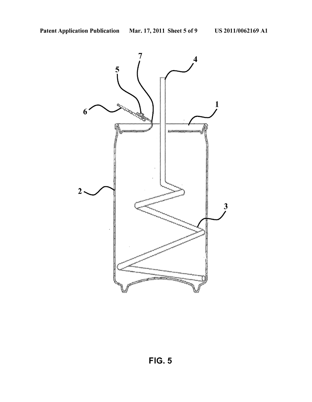ARRANGEMENT FOR CONSUMING DRINK FROM A BEVERAGE CONTAINER - diagram, schematic, and image 06