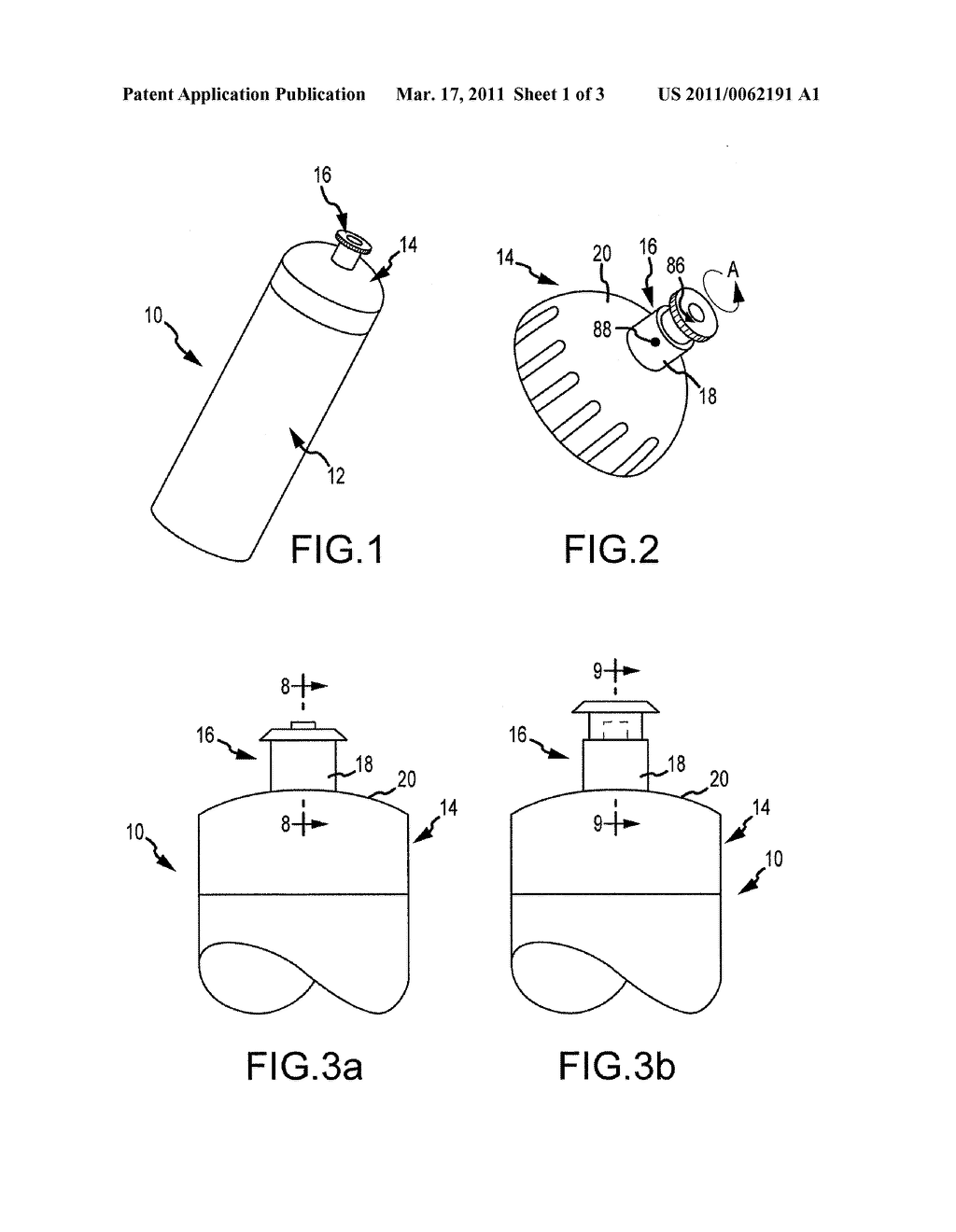 FLUID CONTAINER CLOSURE MECHANISM WITH DETACHABLE VALVE ASSEMBLY - diagram, schematic, and image 02