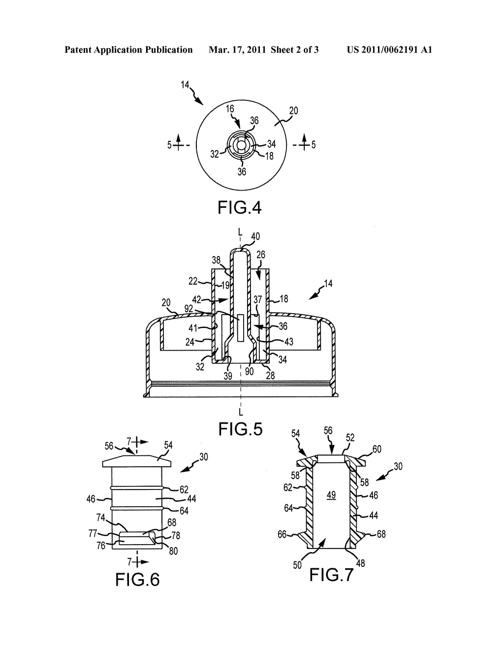 FLUID CONTAINER CLOSURE MECHANISM WITH DETACHABLE VALVE ASSEMBLY - diagram, schematic, and image 03