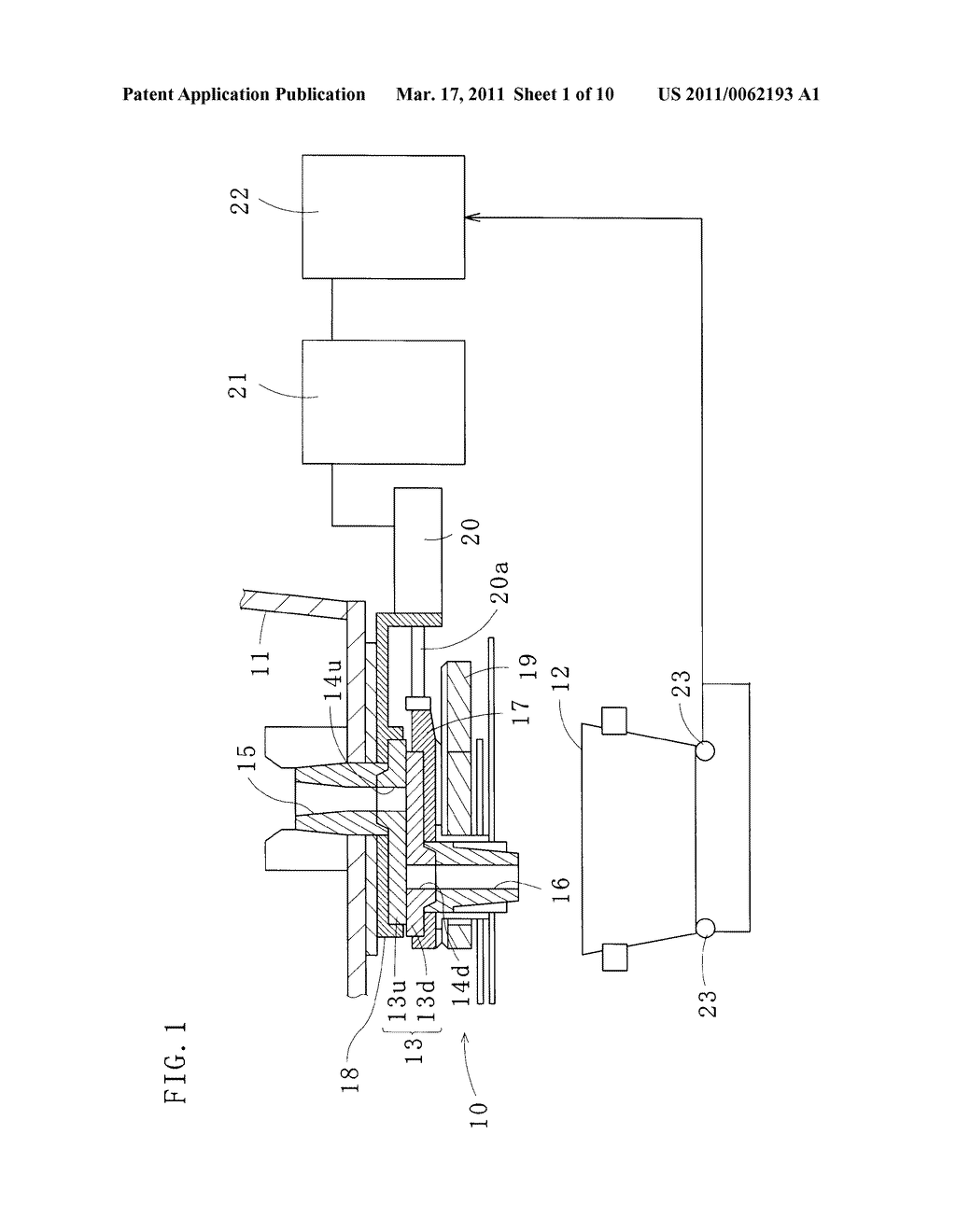 METHOD OF CONTROLLING SLIDING NOZZLE DEVICE AND PLATE USED THEREFOR - diagram, schematic, and image 02