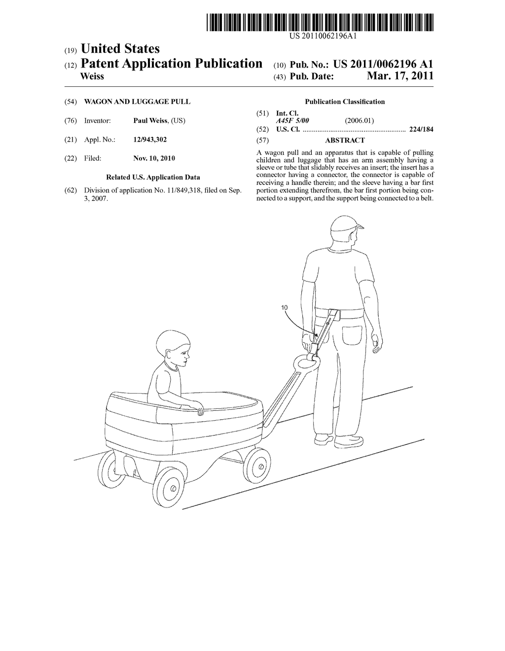 WAGON AND LUGGAGE PULL - diagram, schematic, and image 01