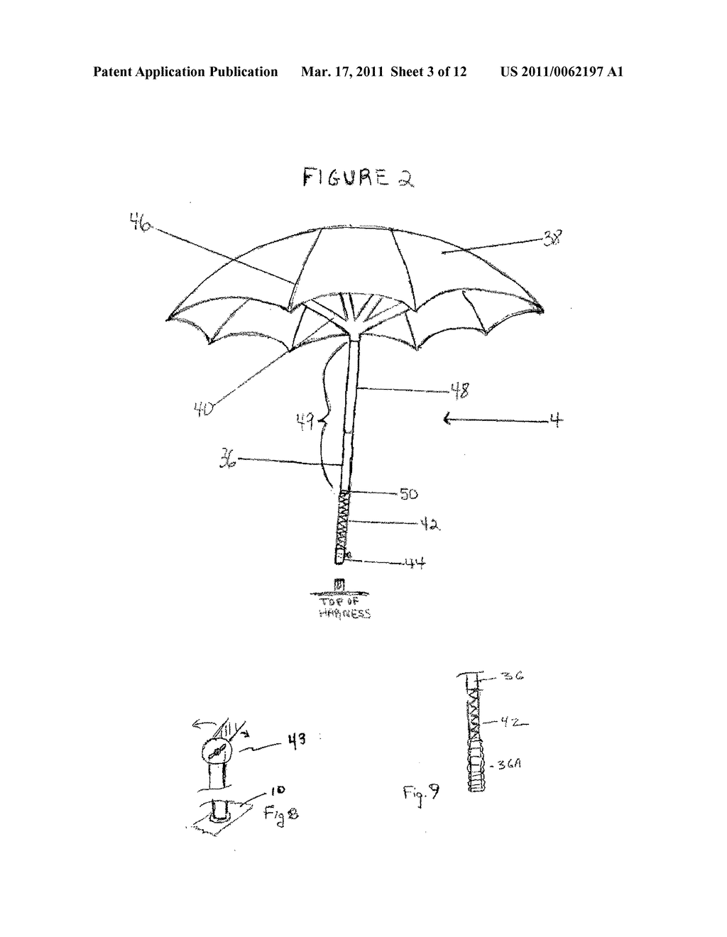 HARNESS WITH ATTACHABLE UMBRELLA - diagram, schematic, and image 04