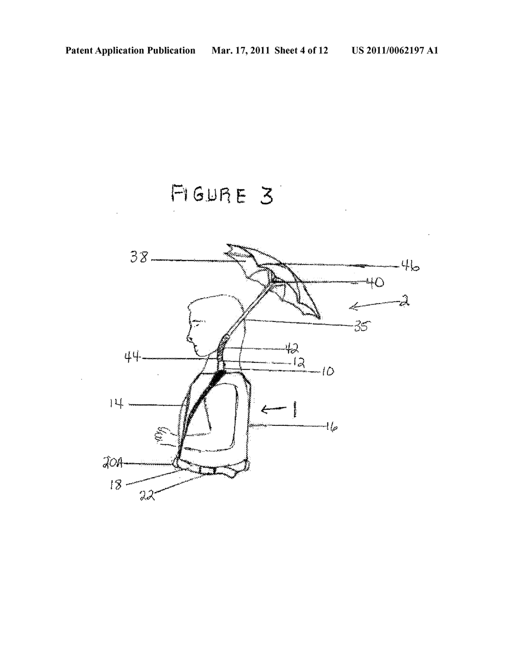 HARNESS WITH ATTACHABLE UMBRELLA - diagram, schematic, and image 05