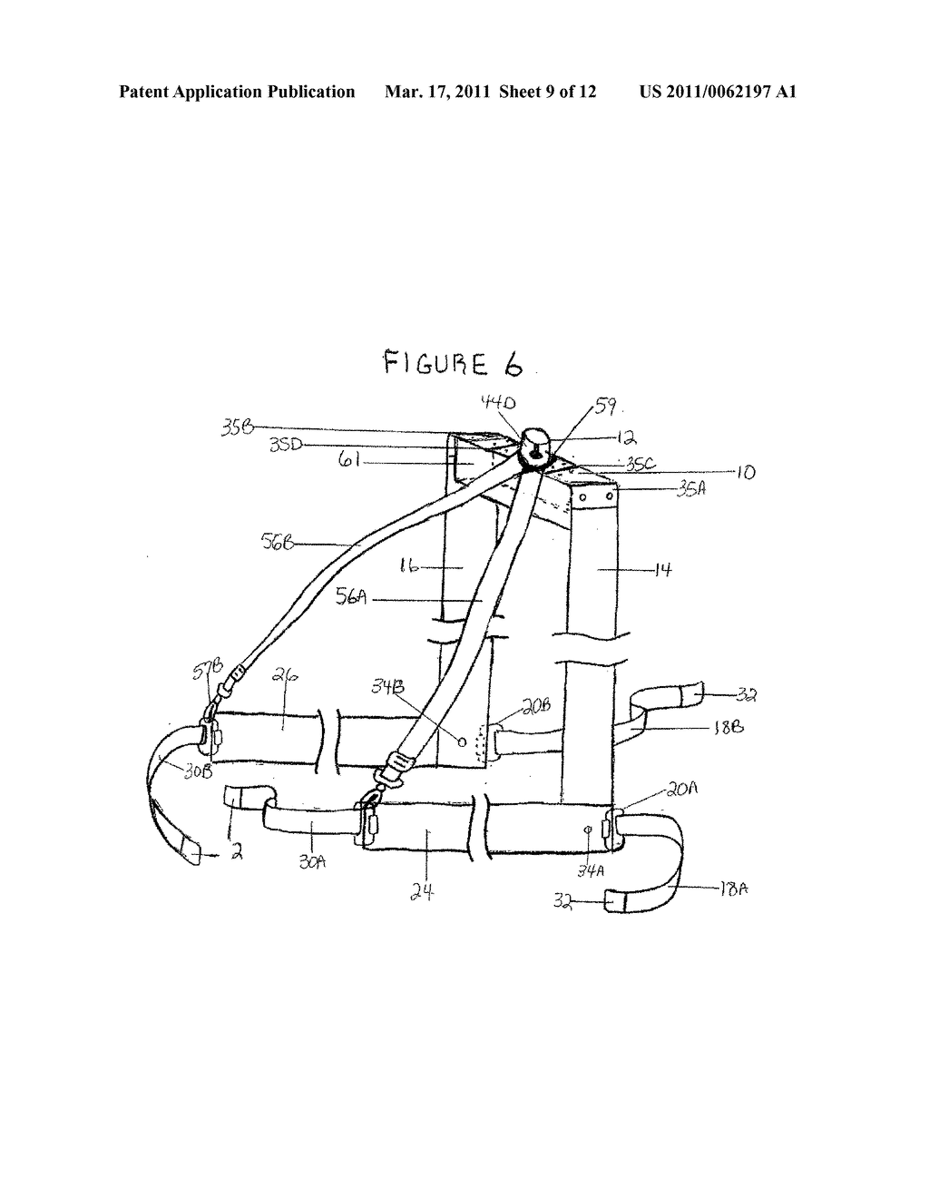HARNESS WITH ATTACHABLE UMBRELLA - diagram, schematic, and image 10