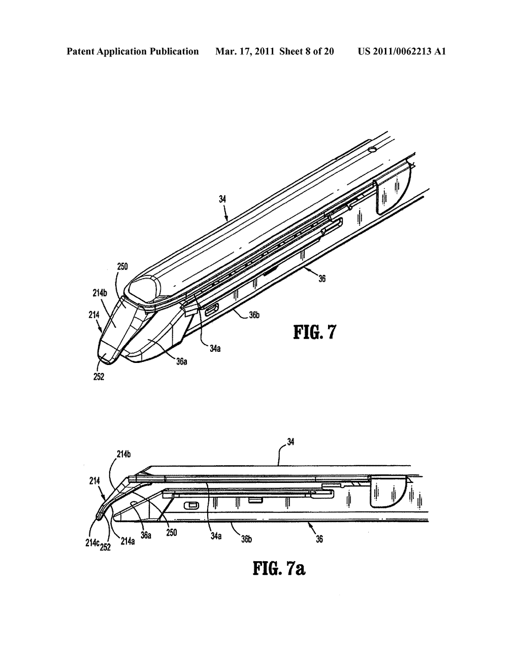 Surgical Stapling Device with Dissecting Tip - diagram, schematic, and image 09