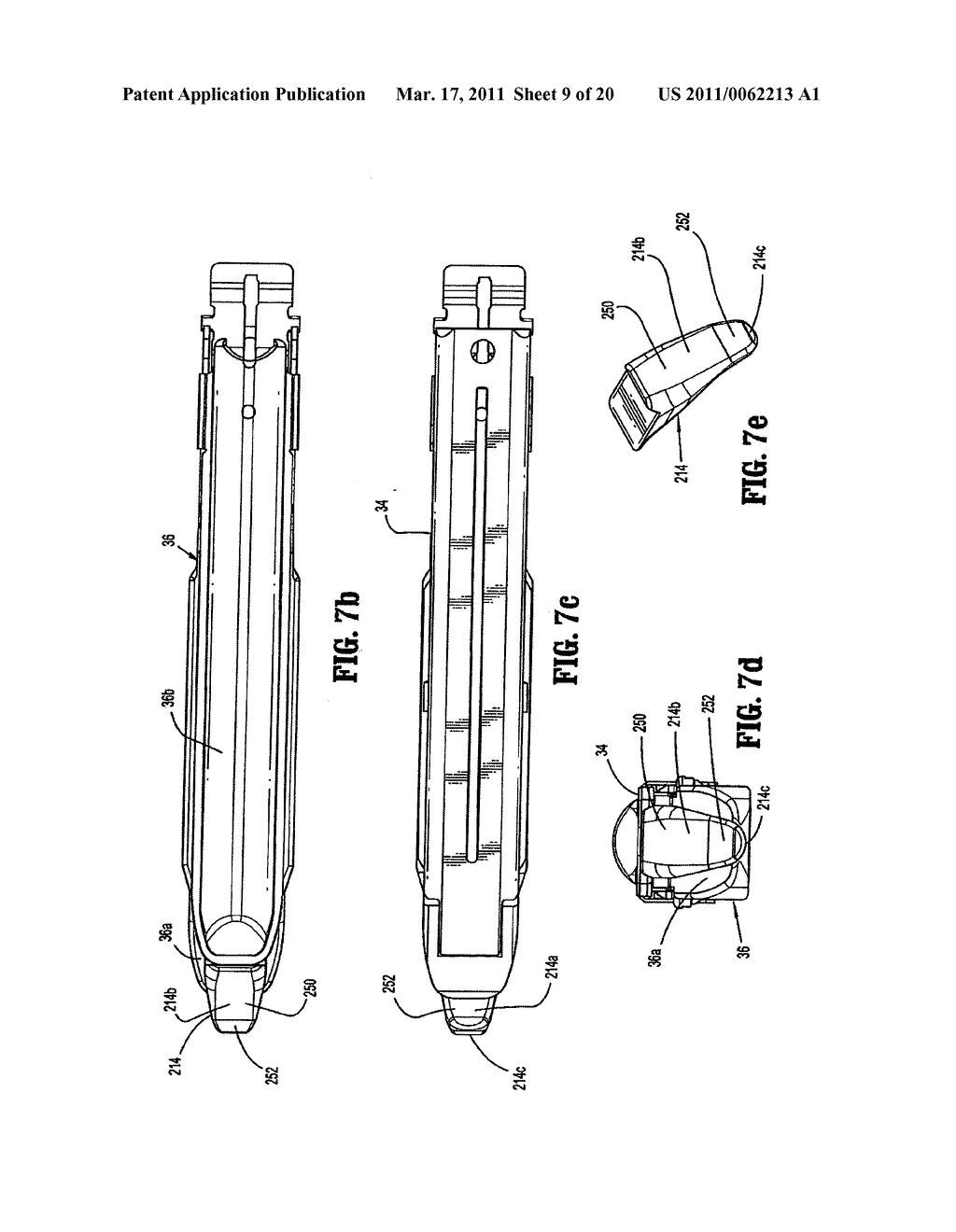 Surgical Stapling Device with Dissecting Tip - diagram, schematic, and image 10