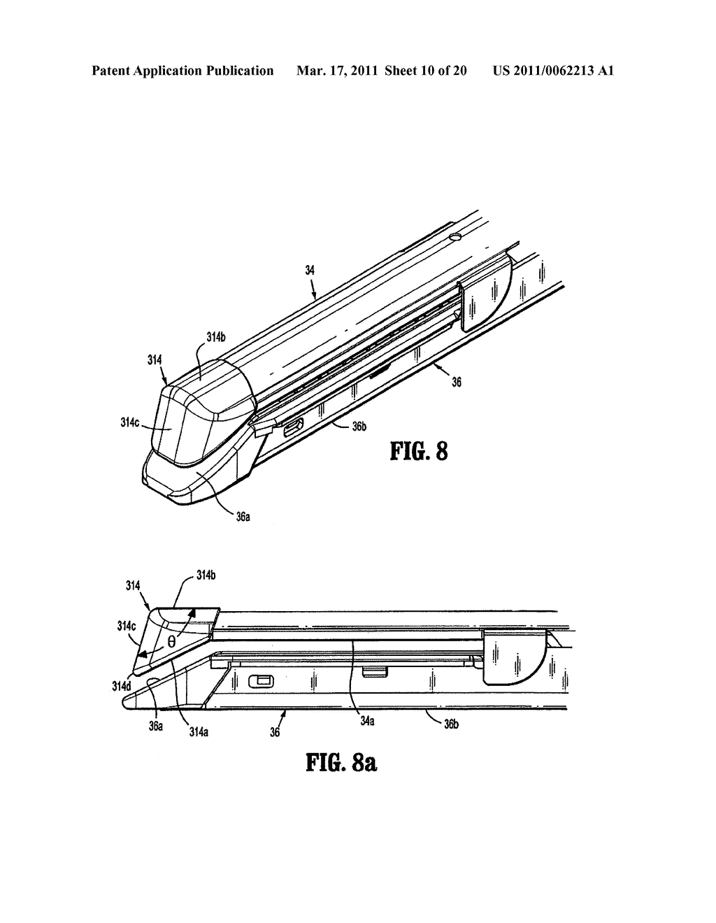 Surgical Stapling Device with Dissecting Tip - diagram, schematic, and image 11