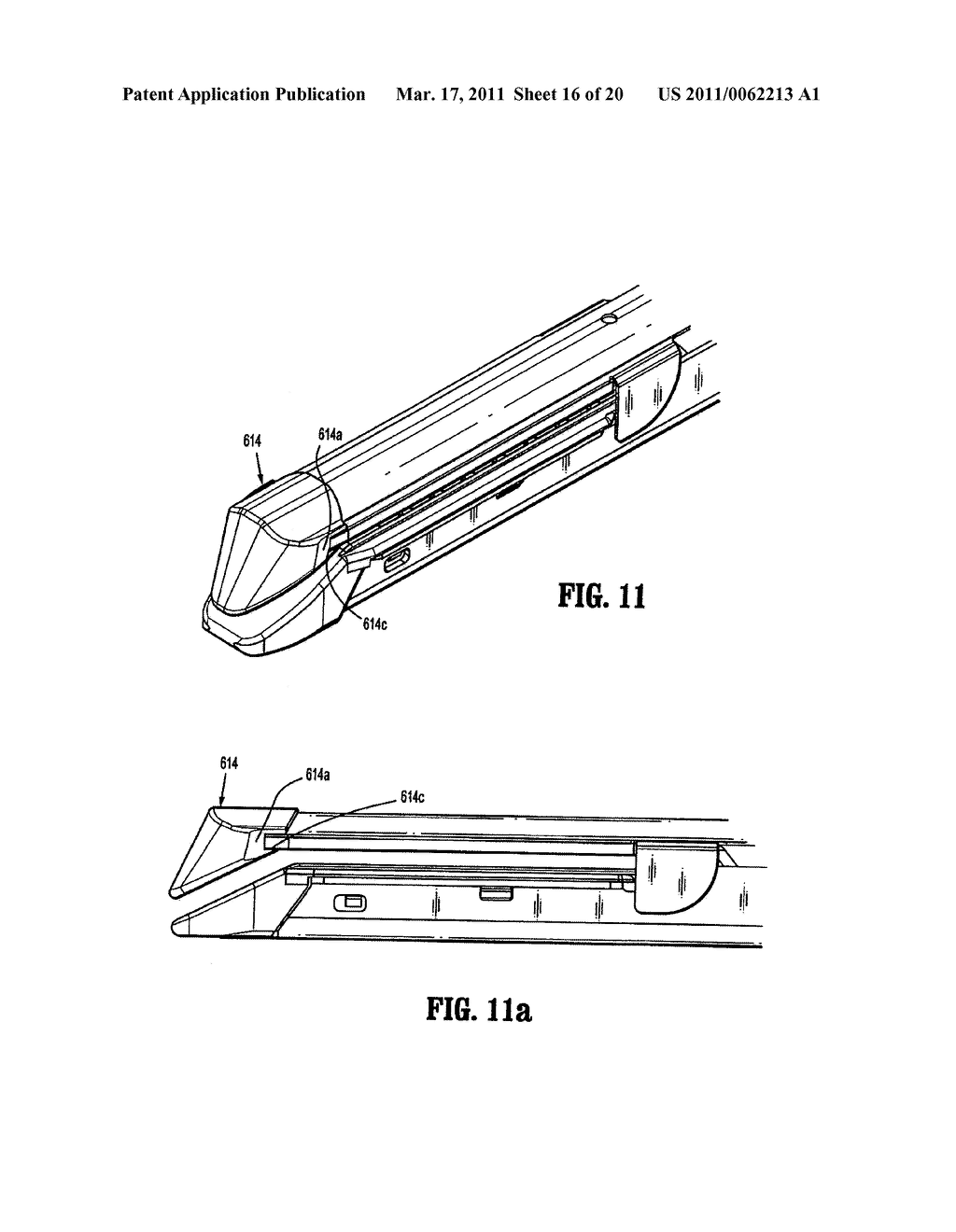 Surgical Stapling Device with Dissecting Tip - diagram, schematic, and image 17