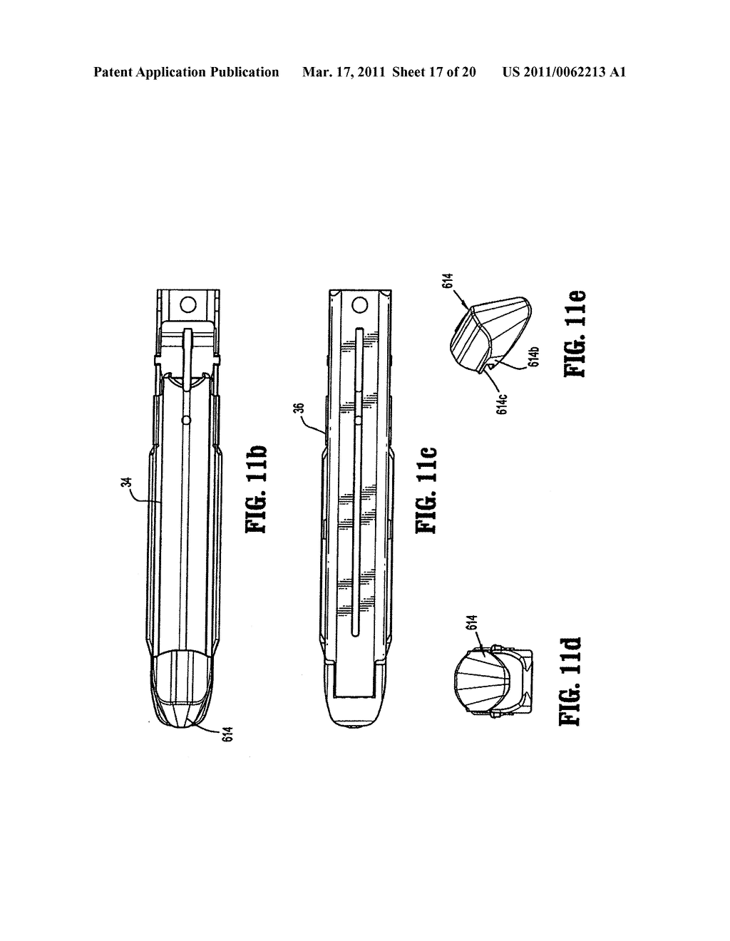 Surgical Stapling Device with Dissecting Tip - diagram, schematic, and image 18