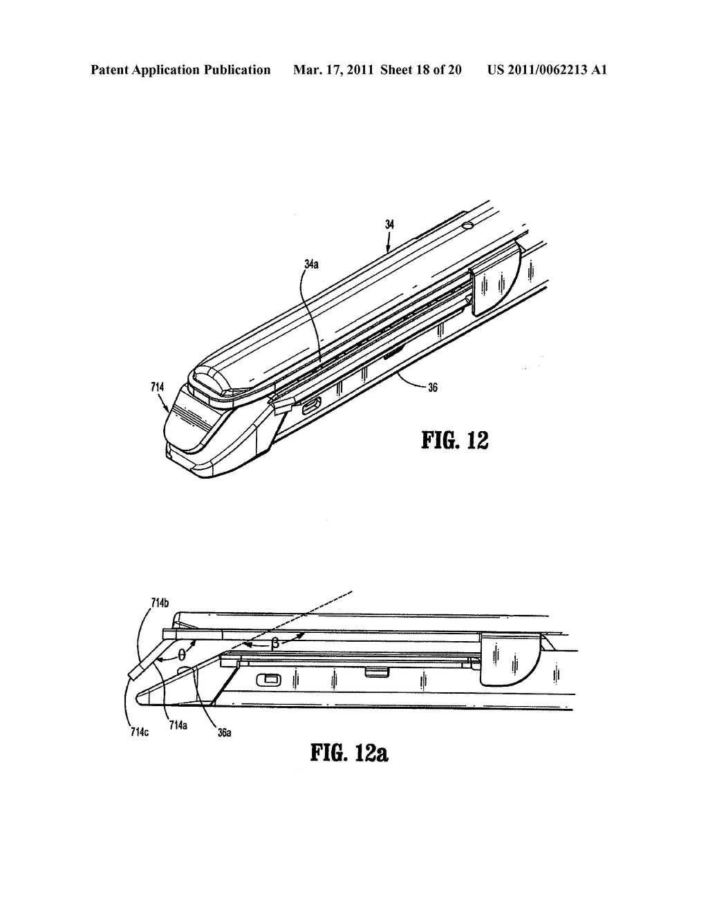 Surgical Stapling Device with Dissecting Tip - diagram, schematic, and image 19
