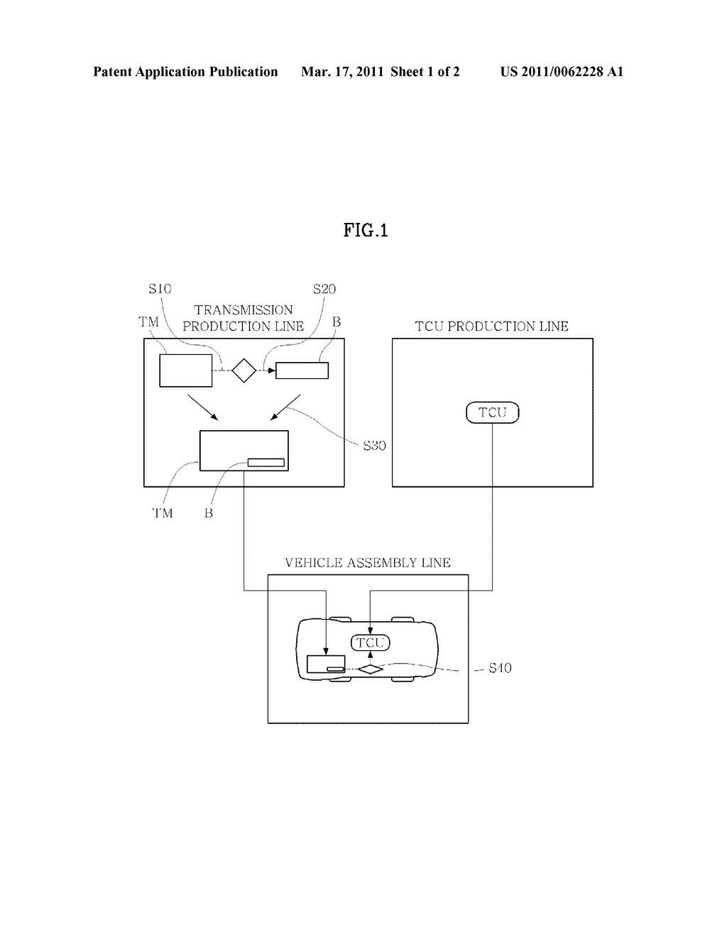 TEACHING METHOD OF TRANSMISSION CONTROL UNIT OF VEHICLE - diagram, schematic, and image 02