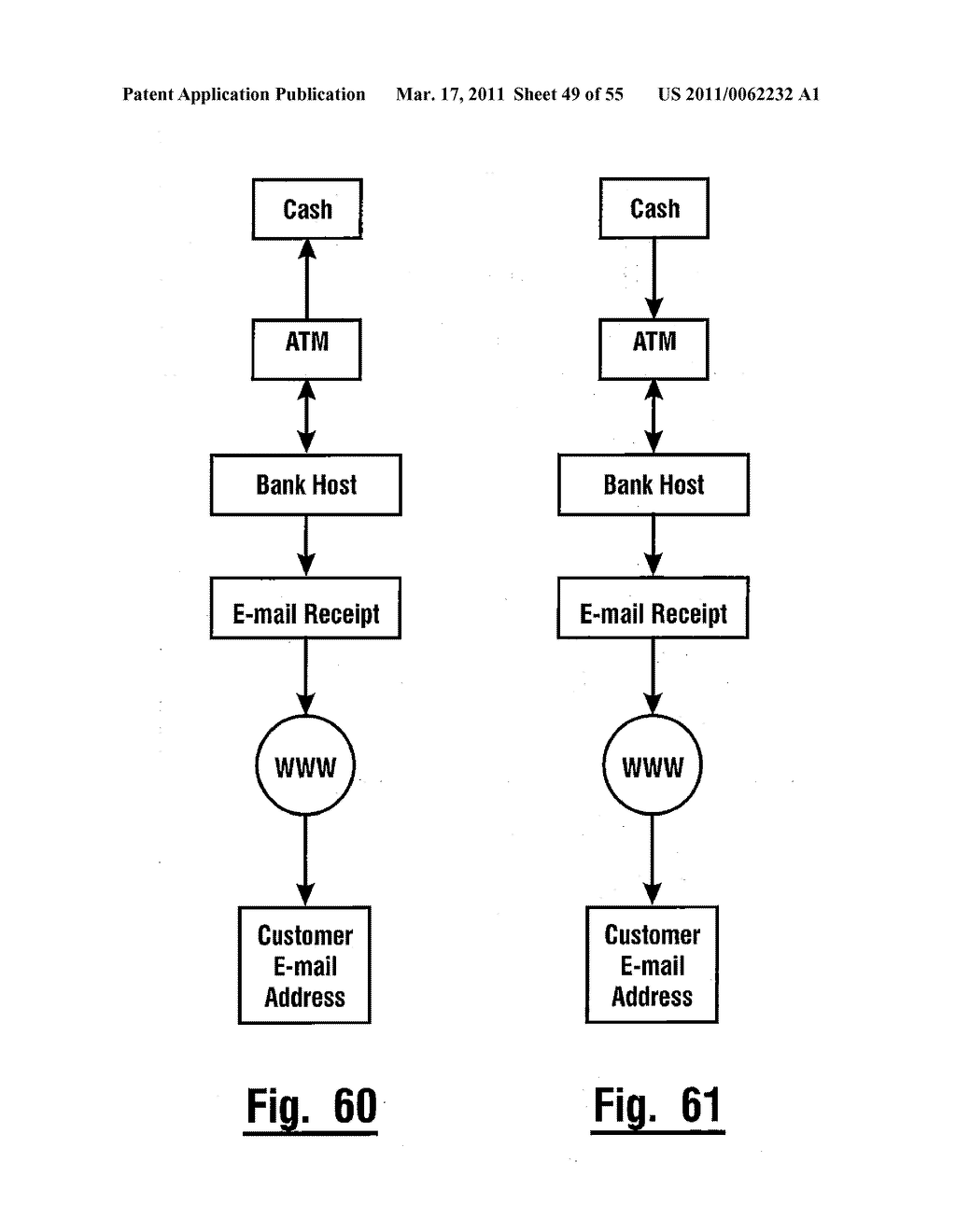 AUTOMATED BANKING MACHINE THAT OPERATES RESPONSIVE TO DATA BEARING RECORDS - diagram, schematic, and image 50