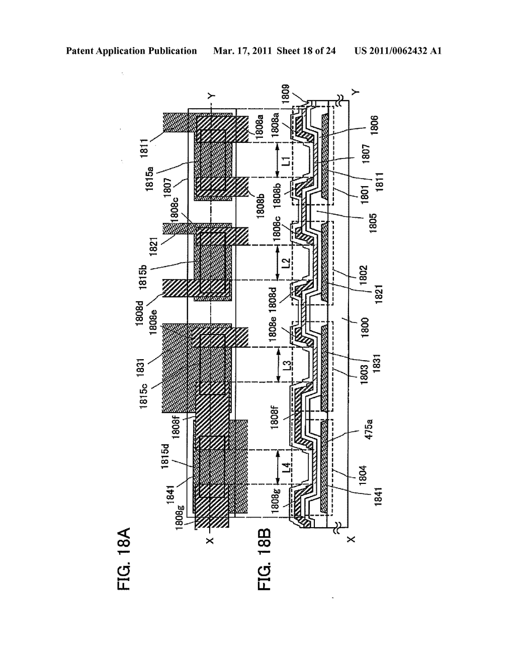 SEMICONDUCTOR DEVICE AND MANUFACTURING METHOD THEREOF - diagram, schematic, and image 19