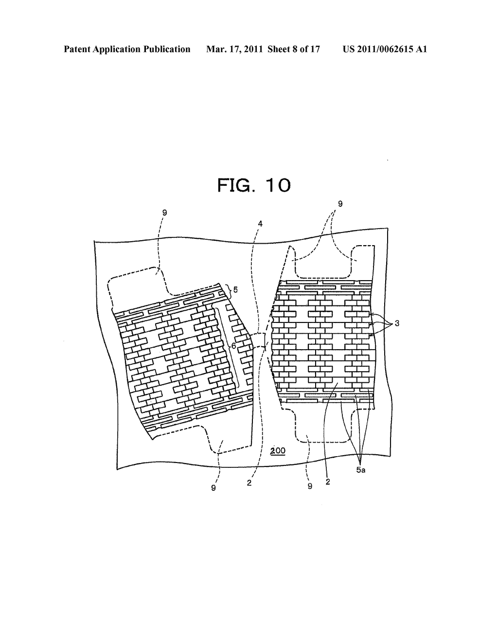 MALE SURFACE FASTENER MEMBER FOR USE IN A CUSHION BODY MOLD AND MANUFACTURING METHOD THEREOF - diagram, schematic, and image 09