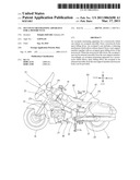 OCCUPANT RESTRAINING APPARATUS FOR A MOTORCYCLE diagram and image