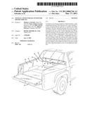 TONNEAU COVER STORAGE SYSTEM FOR MOTOR VEHICLES diagram and image