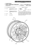 CAST MAGNESIUM ALLOY WHEELS diagram and image