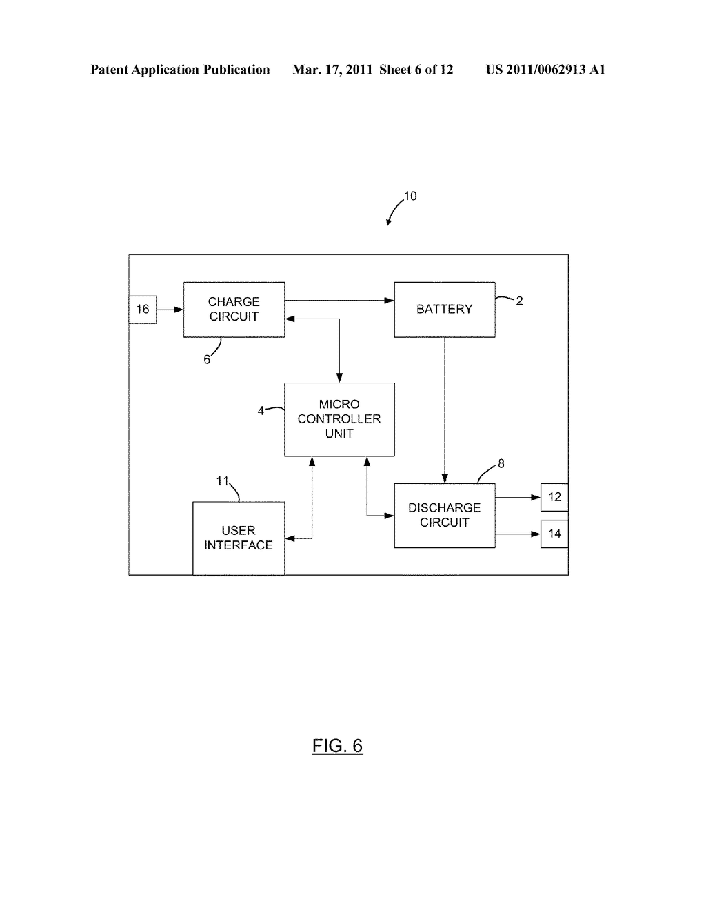 METHOD AND APPARATUS FOR CHARGING A BATTERY - diagram, schematic, and image 07