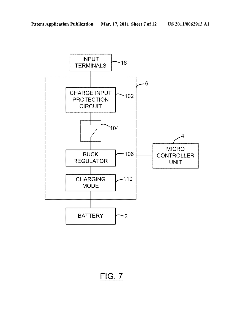 METHOD AND APPARATUS FOR CHARGING A BATTERY - diagram, schematic, and image 08