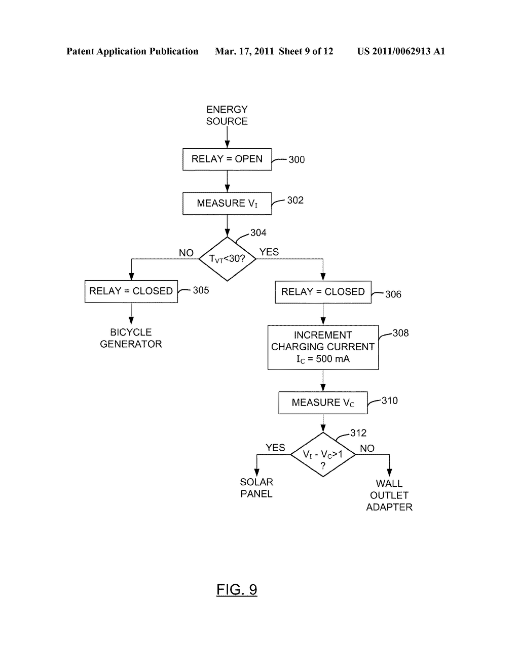 METHOD AND APPARATUS FOR CHARGING A BATTERY - diagram, schematic, and image 10