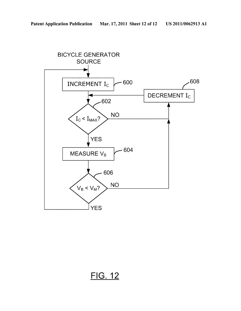 METHOD AND APPARATUS FOR CHARGING A BATTERY - diagram, schematic, and image 13