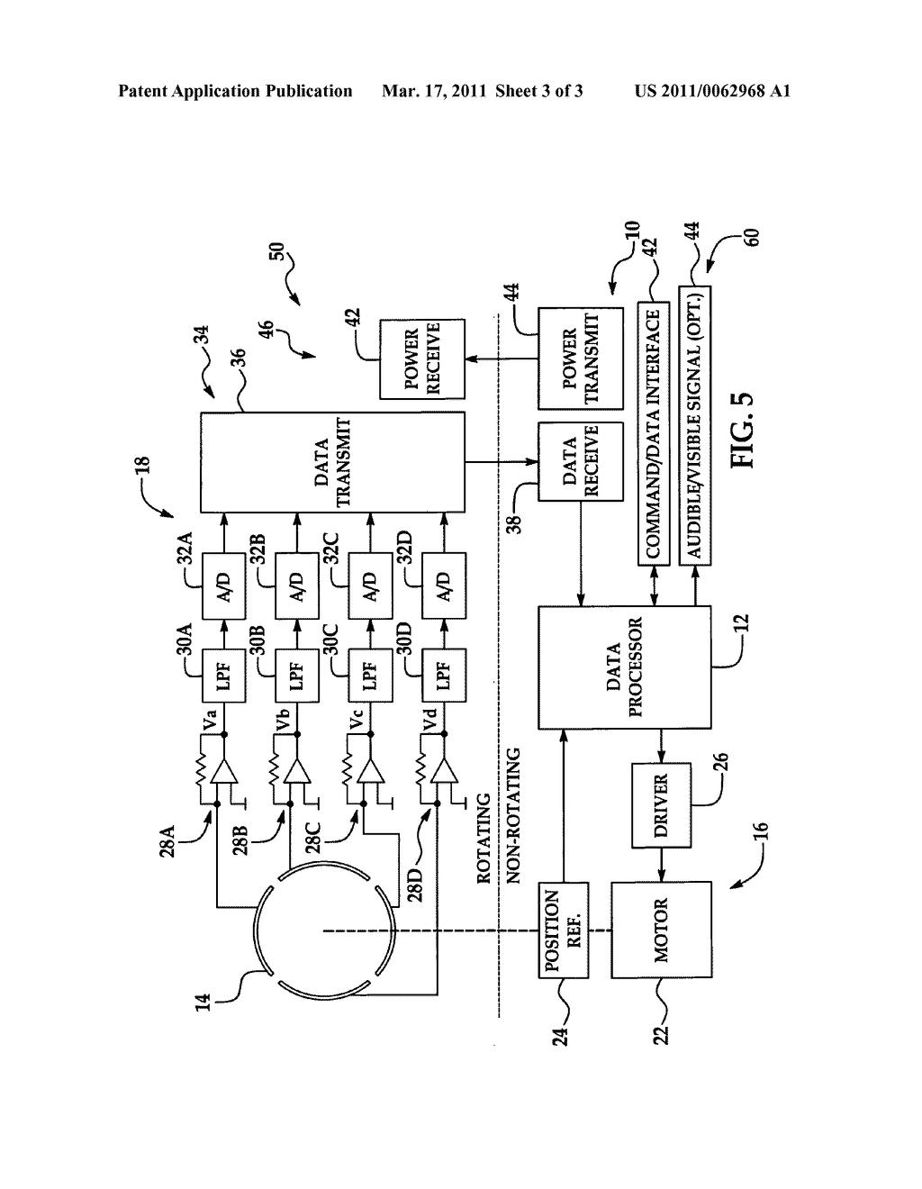 electric field sensor circuit diagram