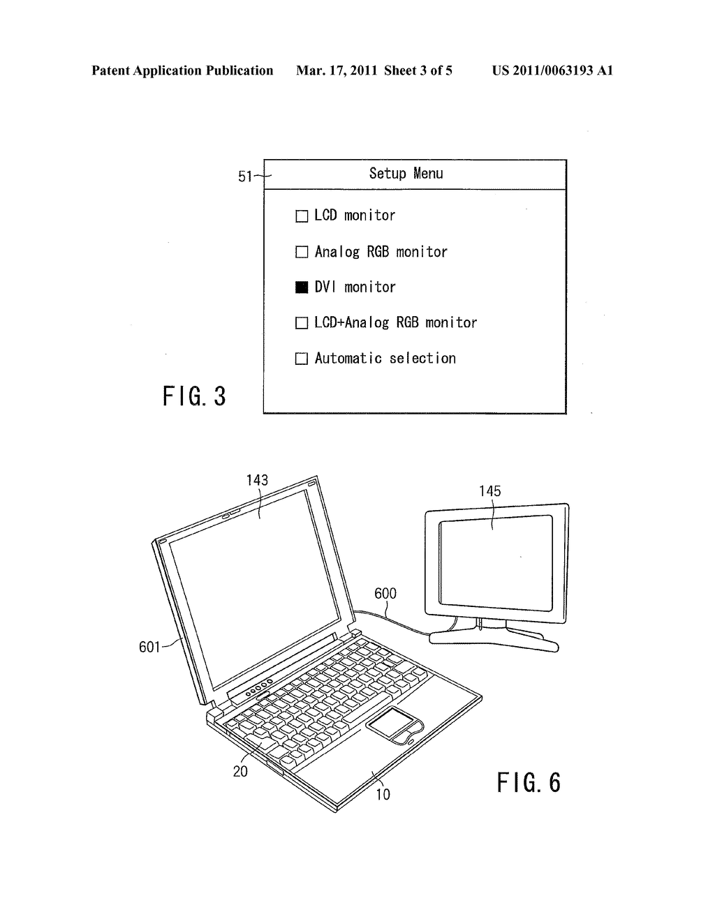 METHOD AND APPARATUS FOR CONTROLLING DISPLAY MONITORS PROVIDED ON AN ELECTRONIC APPARATUS - diagram, schematic, and image 04