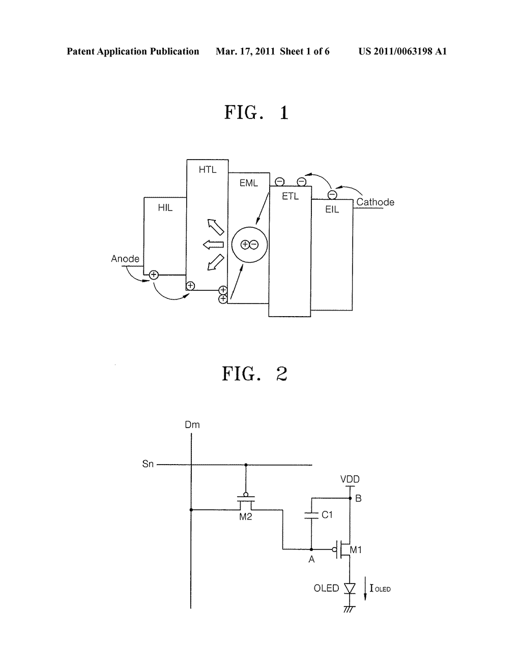 PIXEL CIRCUIT AND ORGANIC LIGHT-EMITTING DIODE DISPLAY USING THE SAME - diagram, schematic, and image 02
