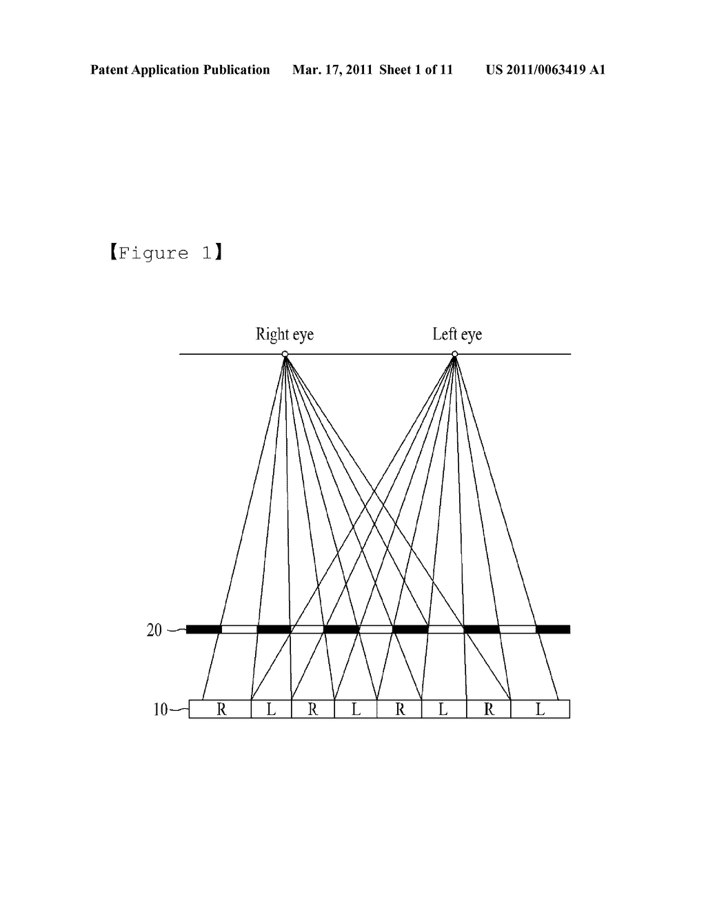 STEREOSCOPIC IMAGE GENERATING CHIP FOR MOBILE DEVICE AND STEREOSCOPIC IMAGE DISPLAY METHOD USING THE SAME - diagram, schematic, and image 02