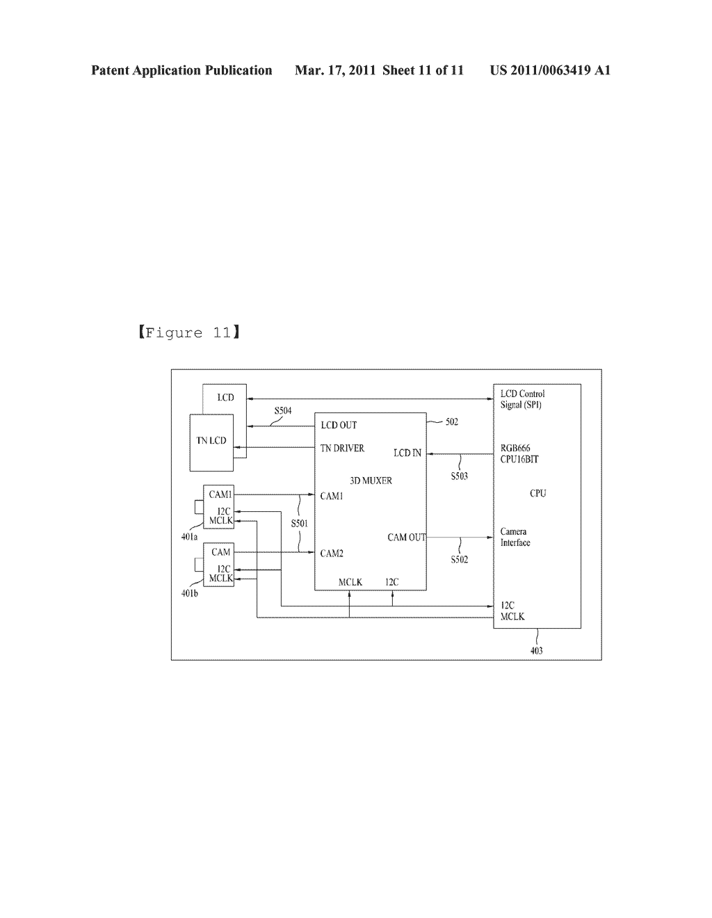 STEREOSCOPIC IMAGE GENERATING CHIP FOR MOBILE DEVICE AND STEREOSCOPIC IMAGE DISPLAY METHOD USING THE SAME - diagram, schematic, and image 12