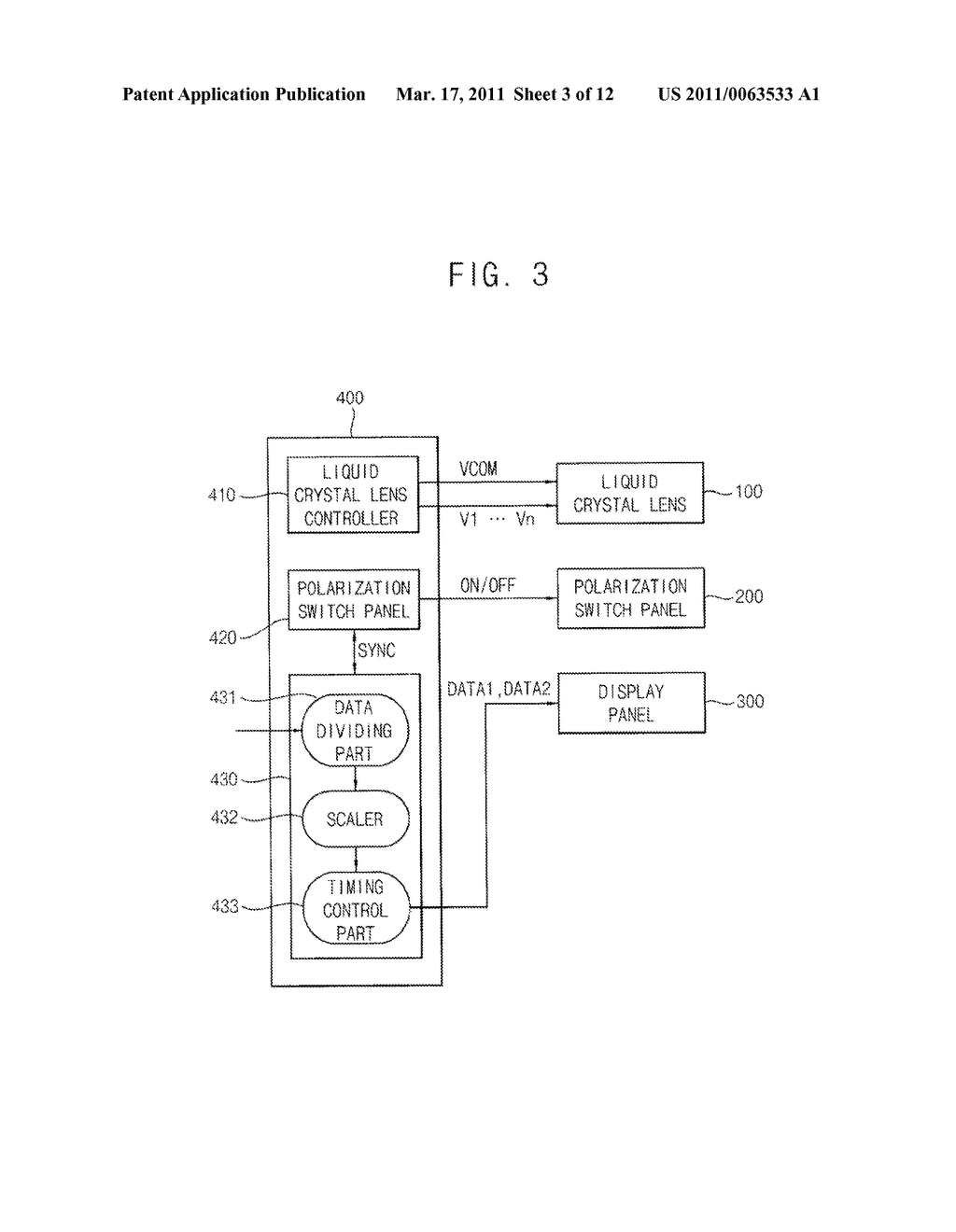 METHOD OF DISPLAYING STEREOSCOPIC IMAGES MIXED WITH MONOSCOPIC IMAGES AND MONO/STEREOSCOPIC IMAGE DISPLAY APPARATUS CAPABLE OF PERFORMING THE METHOD - diagram, schematic, and image 04