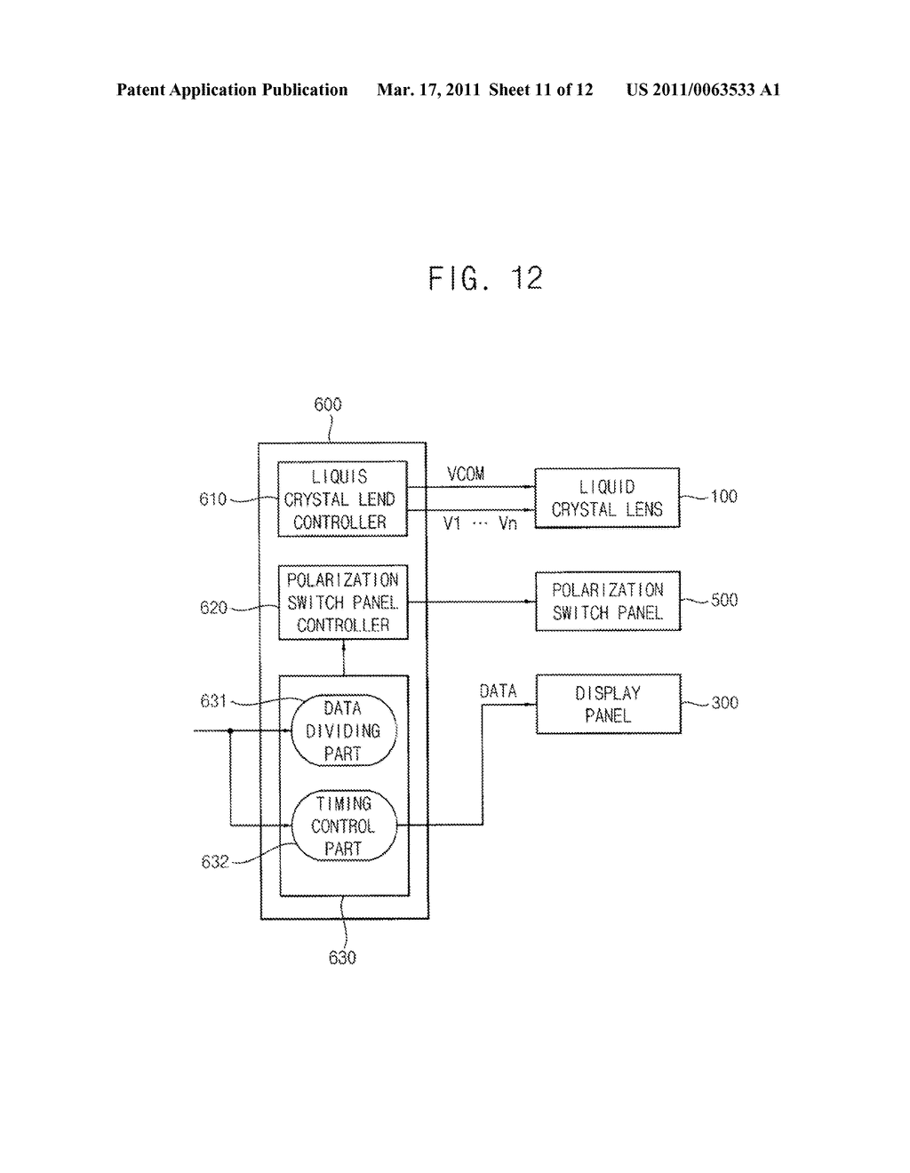 METHOD OF DISPLAYING STEREOSCOPIC IMAGES MIXED WITH MONOSCOPIC IMAGES AND MONO/STEREOSCOPIC IMAGE DISPLAY APPARATUS CAPABLE OF PERFORMING THE METHOD - diagram, schematic, and image 12
