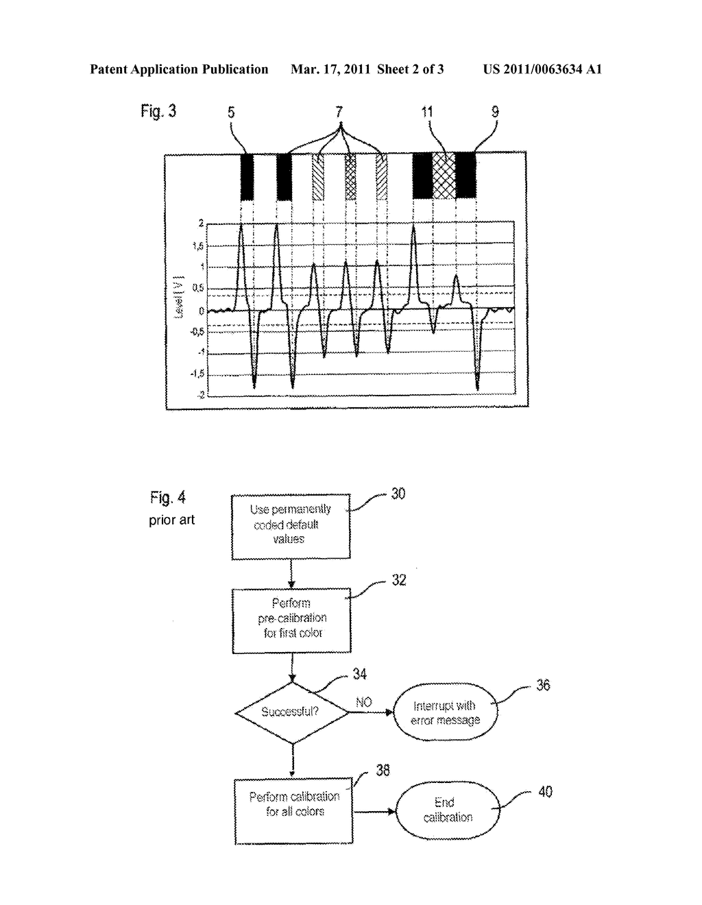 METHOD FOR CALIBRATING A MULTI-COLOR PRINTING MACHINE - diagram, schematic, and image 03
