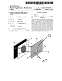 OPTICAL SYSTEM FOR DISPLAYING AN IMAGE ON THE SURFACE OF A SOLAR PANEL diagram and image