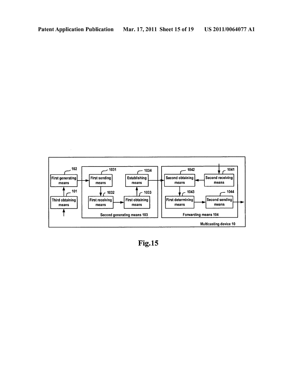 METHOD AND APPARATUS FOR SENDING AND RECEIVING MULTICAST PACKETS - diagram, schematic, and image 16