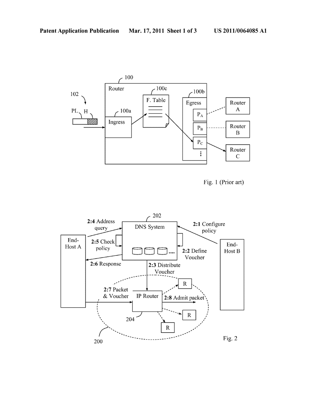 Method and Apparatus for Controlling the Routing of Data Packets - diagram, schematic, and image 02