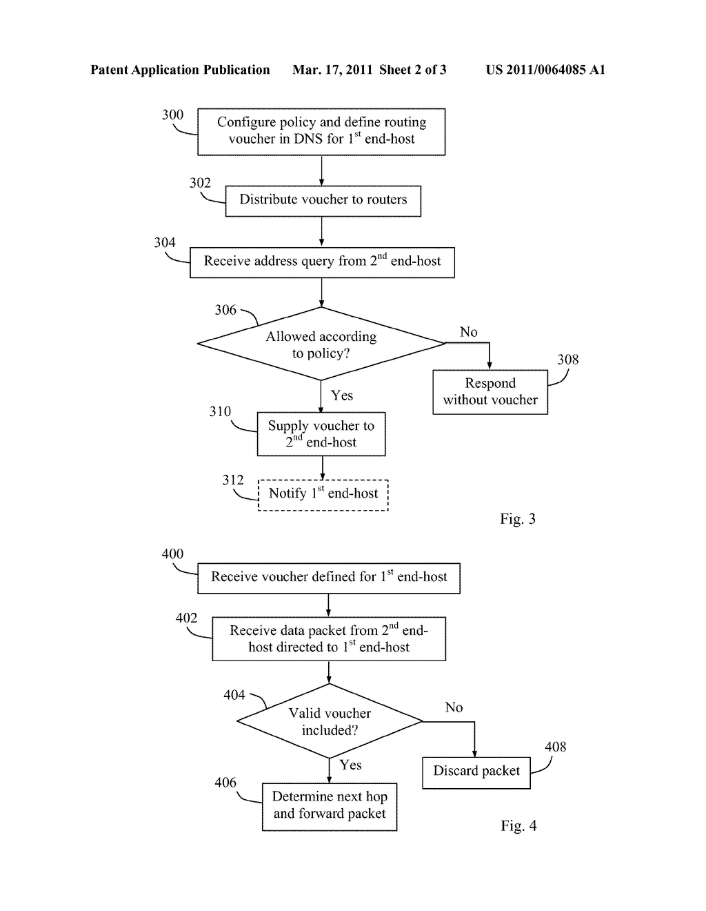 Method and Apparatus for Controlling the Routing of Data Packets - diagram, schematic, and image 03