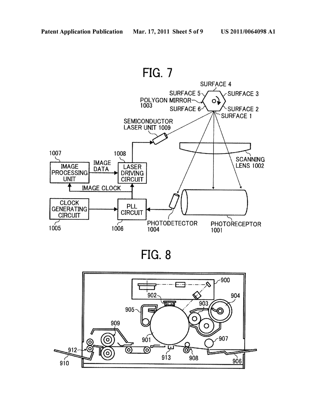 SEMICONDUCTOR LASER CONTROL DEVICE AND IMAGE FORMING DEVICE - diagram, schematic, and image 06