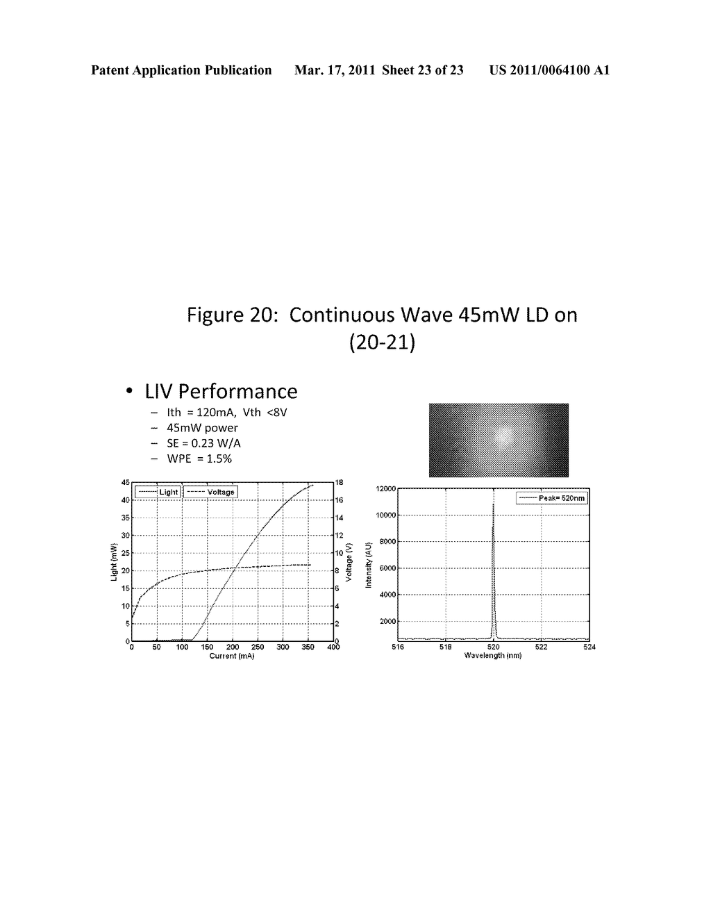 Growth Structures and Method for Forming Laser Diodes on or Off Cut Gallium and Nitrogen Containing Substrates - diagram, schematic, and image 24