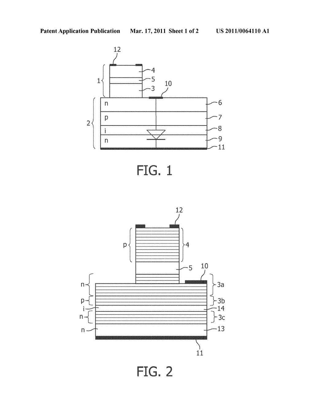 VERTICAL CAVITY SURFACE EMITTING LASER DEVICE WITH MONOLITHICALLY INTEGRATED PHOTODIODE - diagram, schematic, and image 02