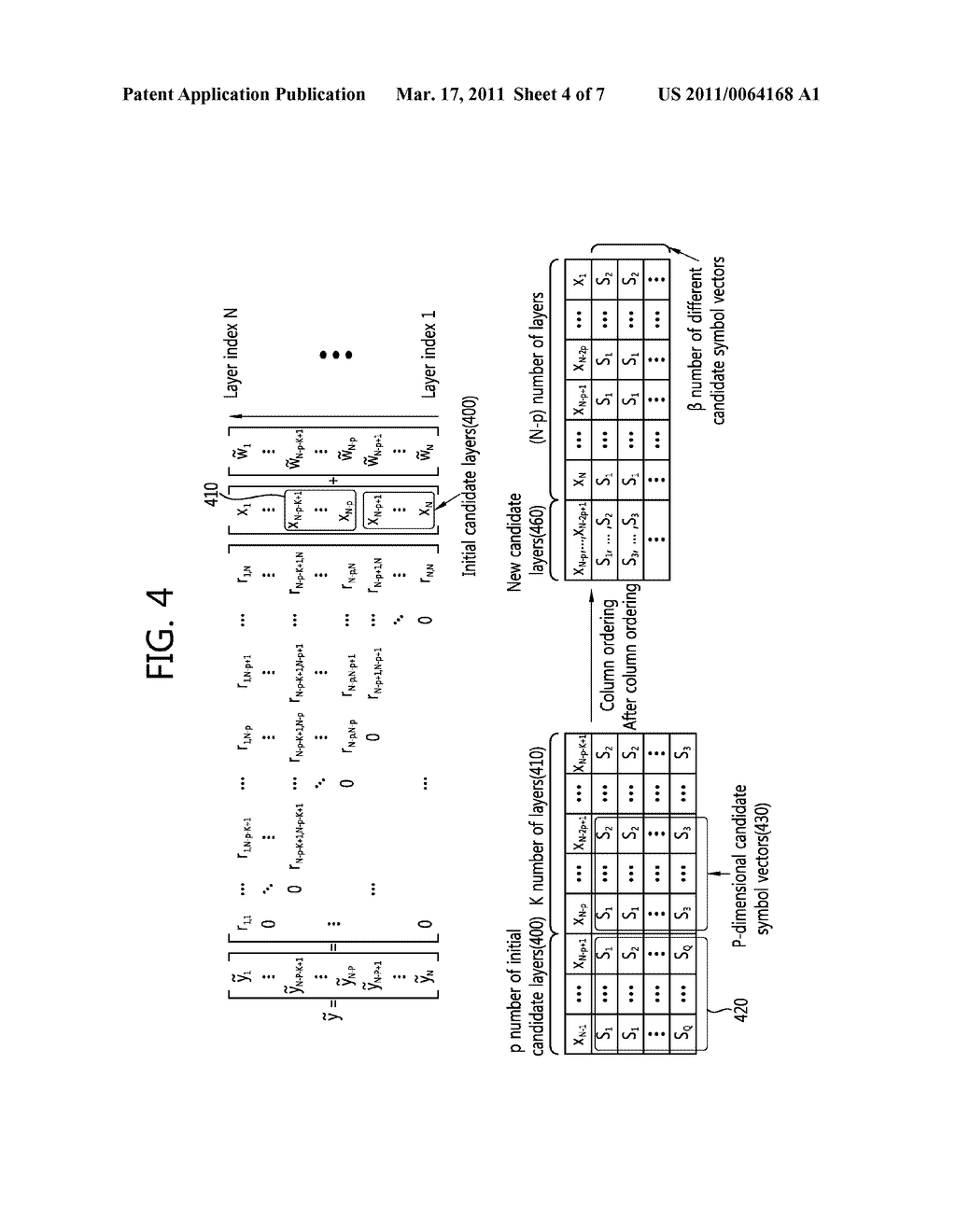 METHOD AND APPARATUS FOR DETECTING SPACE-TIME BLOCK CODES - diagram, schematic, and image 05