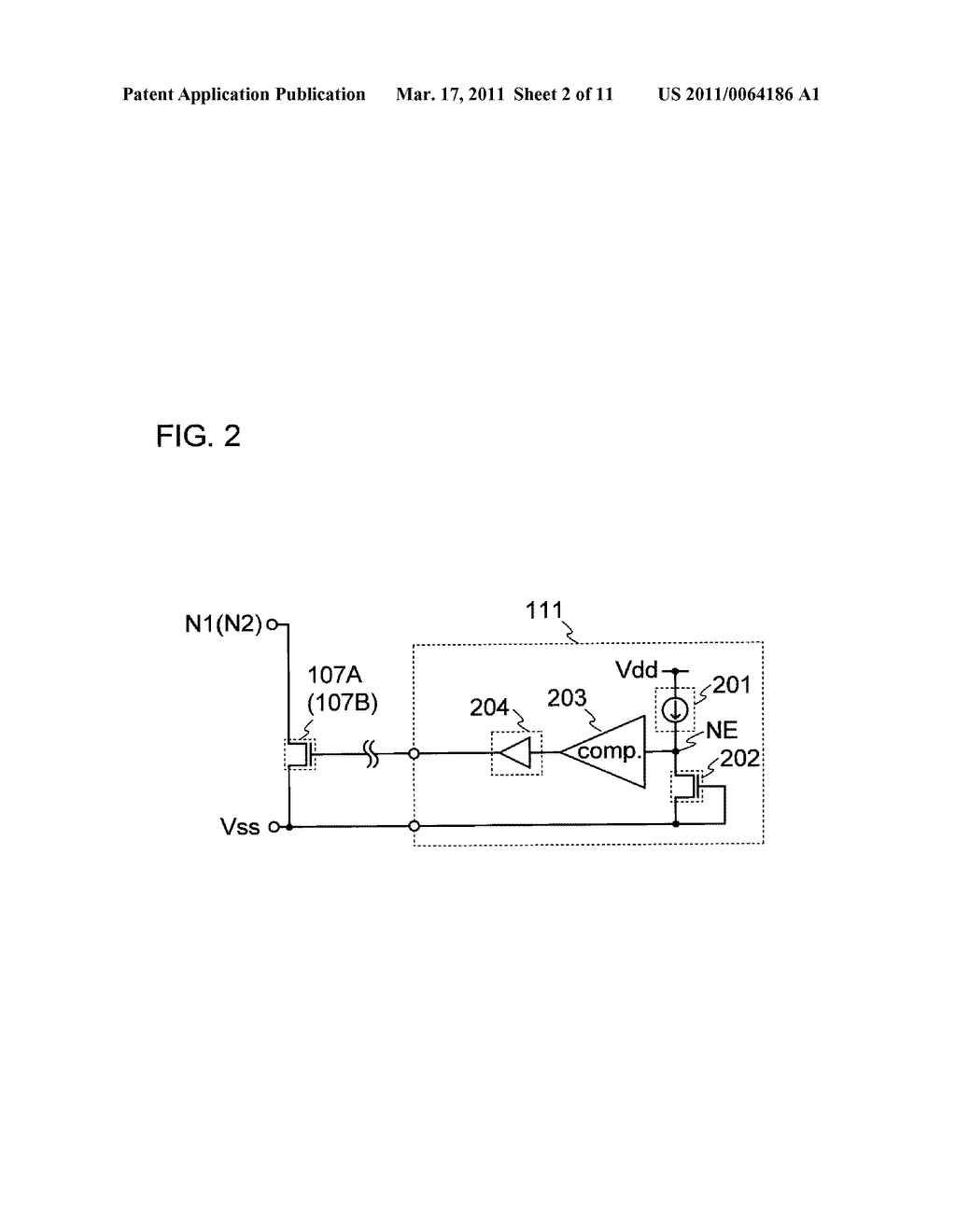 DRIVER CIRCUIT, DISPLAY DEVICE INCLUDING THE DRIVER CIRCUIT, AND ELECTRONIC DEVICE INCLUDING THE DISPLAY DEVICE - diagram, schematic, and image 03