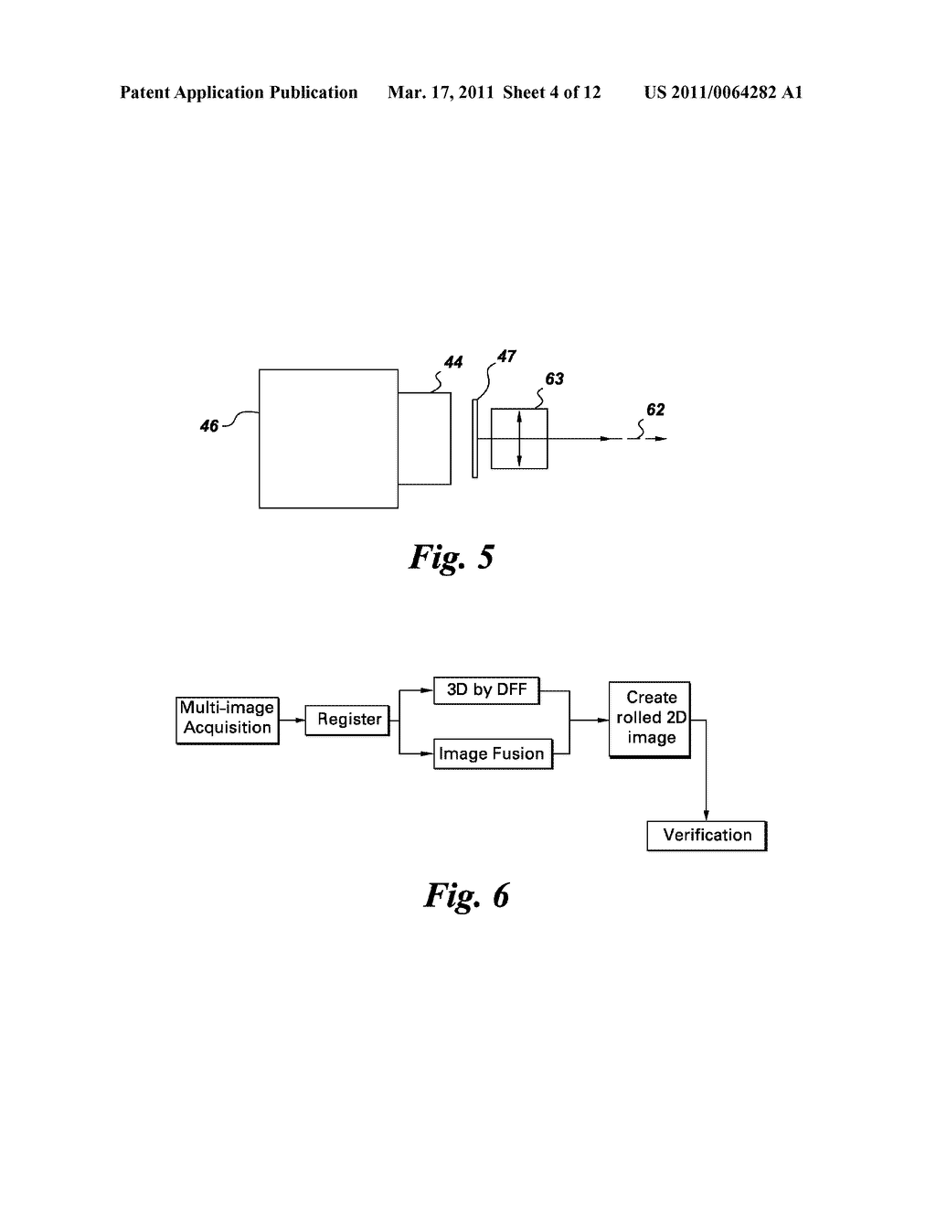 METHOD AND SYSTEM FOR CONTACTLESS FINGERPRINT DETECTION AND VERIFICATION - diagram, schematic, and image 05