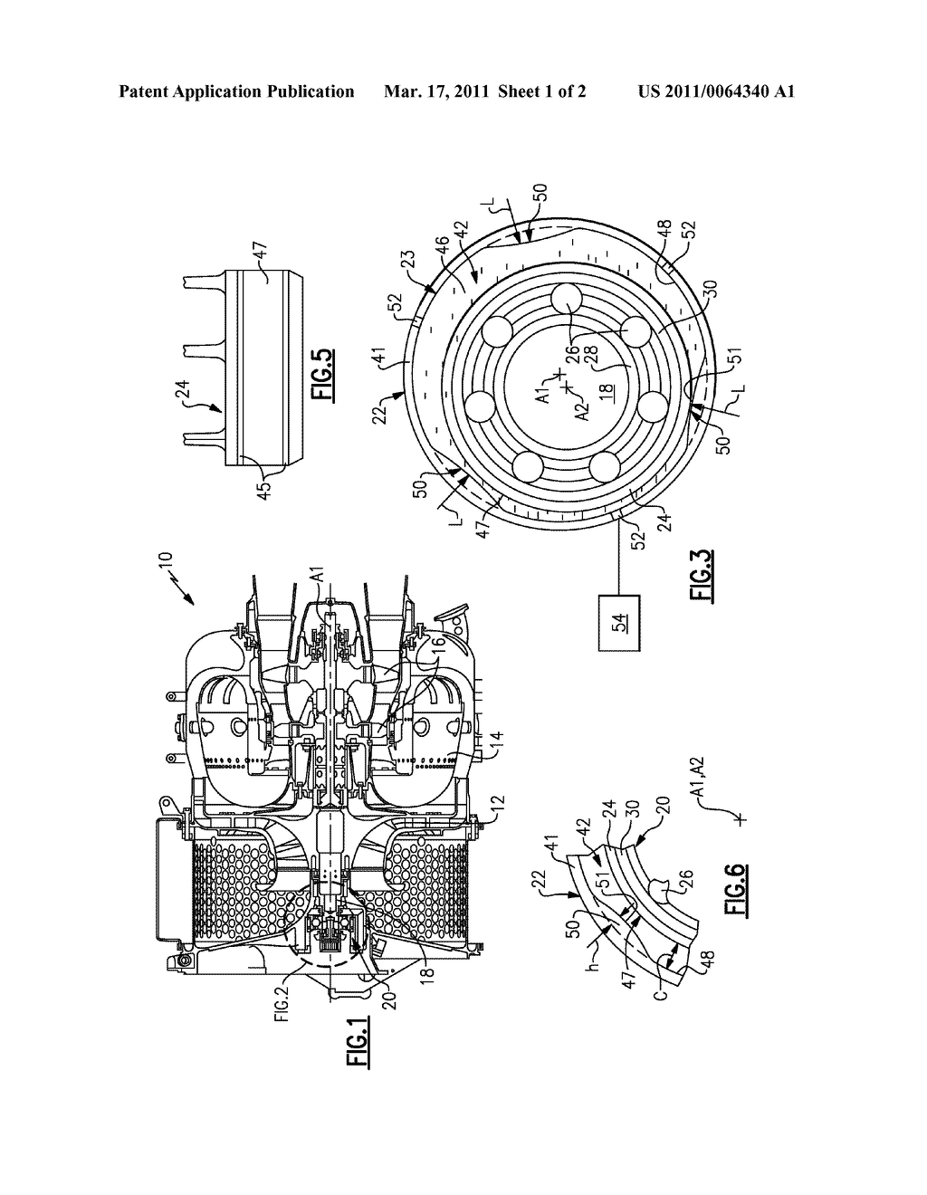 METHOD AND APPARATUS FOR STABILIZING A SQUEEZE FILM DAMPER FOR A ROTATING MACHINE - diagram, schematic, and image 02