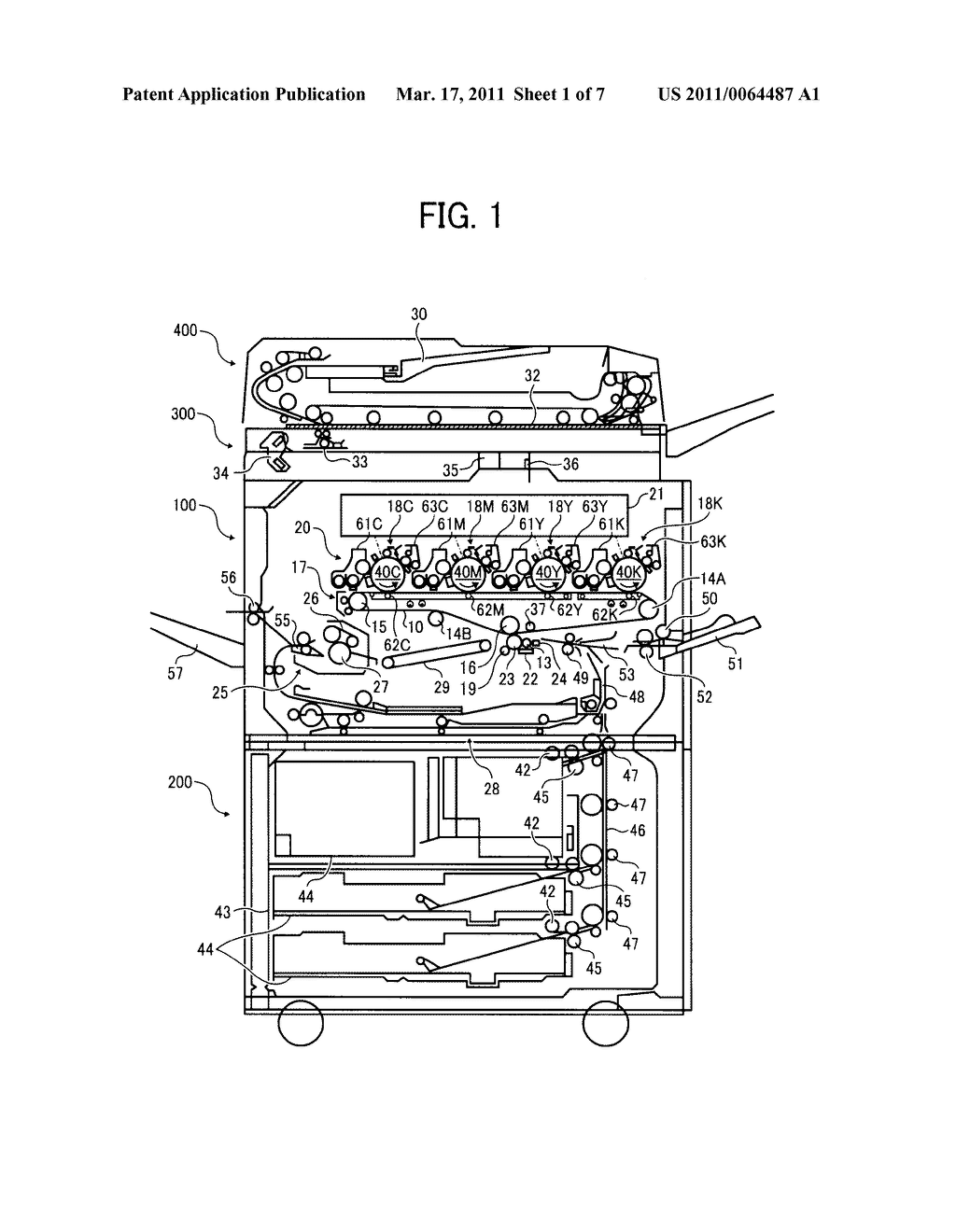 TRANSFER DEVICE AND IMAGE FORMING APPARATUS USING SAME - diagram, schematic, and image 02
